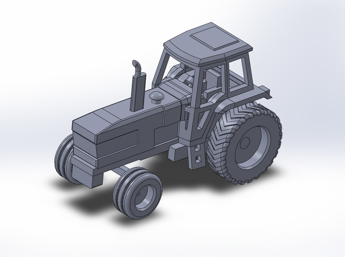 1:160/N-Scale Ford TW 30 3d printed