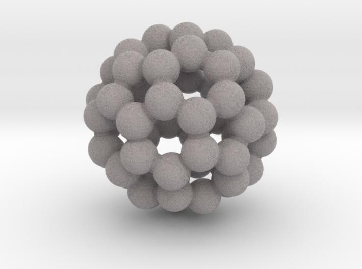 C60 (buckminsterfullerene) 3d printed