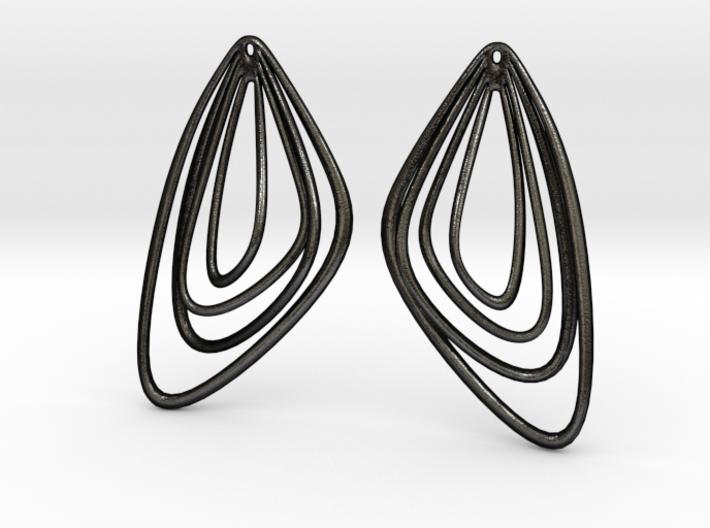 The Minimalist Earrings Set II (1Pair) 3d printed