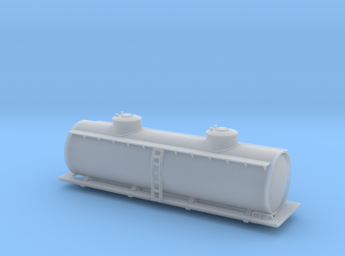 Two Dome Tank Car - Zscale 3d printed