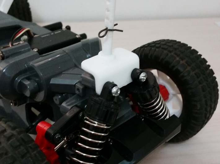 Tamiya MF01X Body Mount for monster Beetle and bli 3d printed