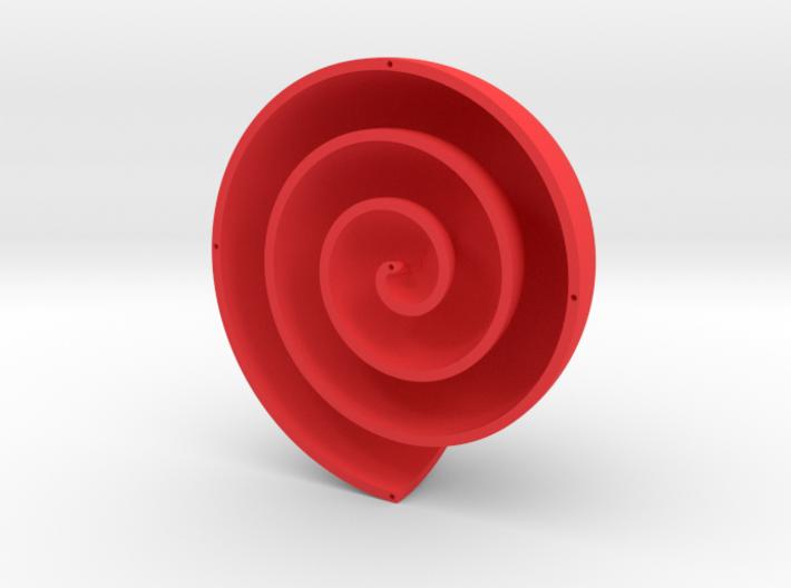 Archimedean Vortex Shell CCW 3d printed