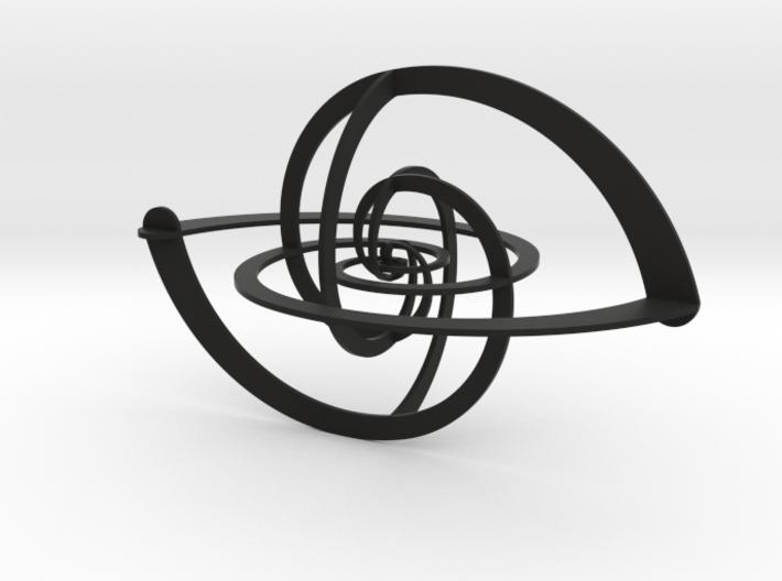 Spacetime 3d printed