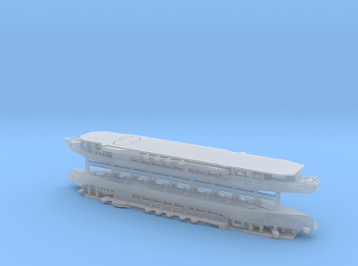 IJA Escort Carrier Yamashiro Maru 1/1800 3d printed