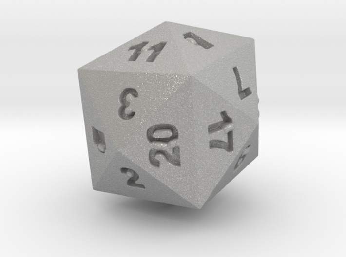 Drinking D24 (D20) 3d printed