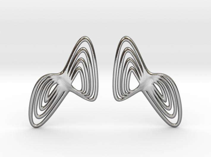 WAVE Earrings (1 Pair) 3d printed