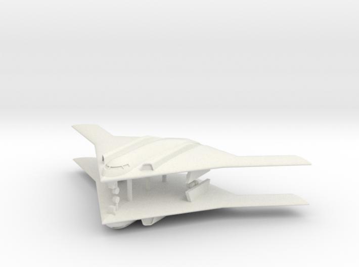 1/700 Long Range Strike Bomber (LRS-B) (x2) Landed 3d printed