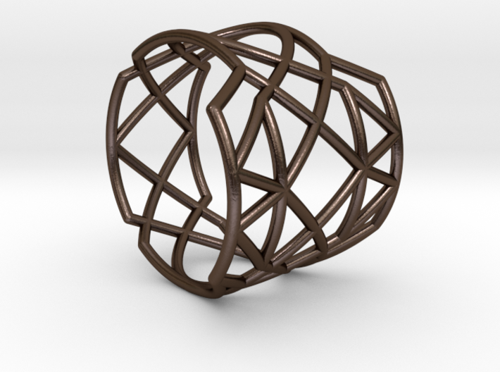 INTERSECTION Ring Nº21 3d printed