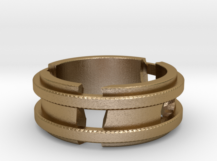 Broken-ring 3d printed