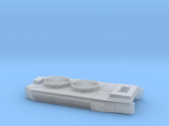 DB0012 SD40-2W DB, Short Q Stack, As-Built 1/87.1 3d printed