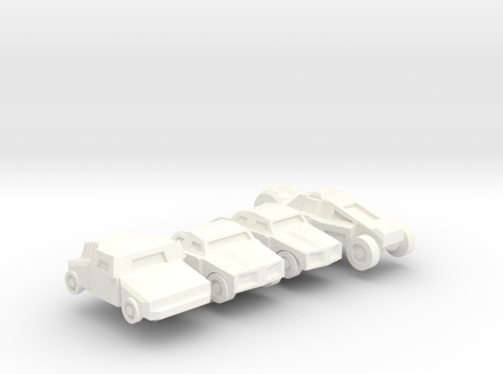 Colony Cars 3d printed