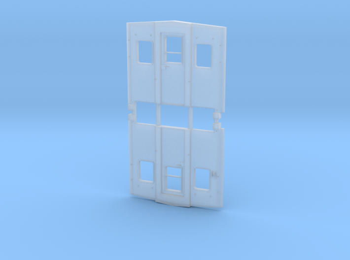 EV End Riveted Window SCL 3d printed
