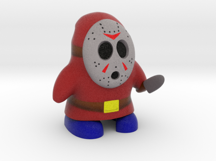 Shy Jason 3d printed
