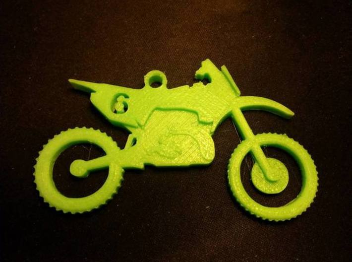 Motorcycle Keychain 3d printed