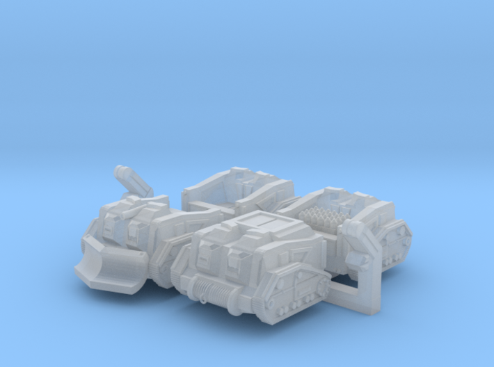 Mule Ammunition Tractor (Alternate Set) 3d printed