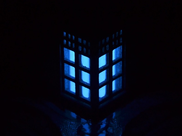 Tardis Lantern 2: Tritium (All Materials) 3d printed