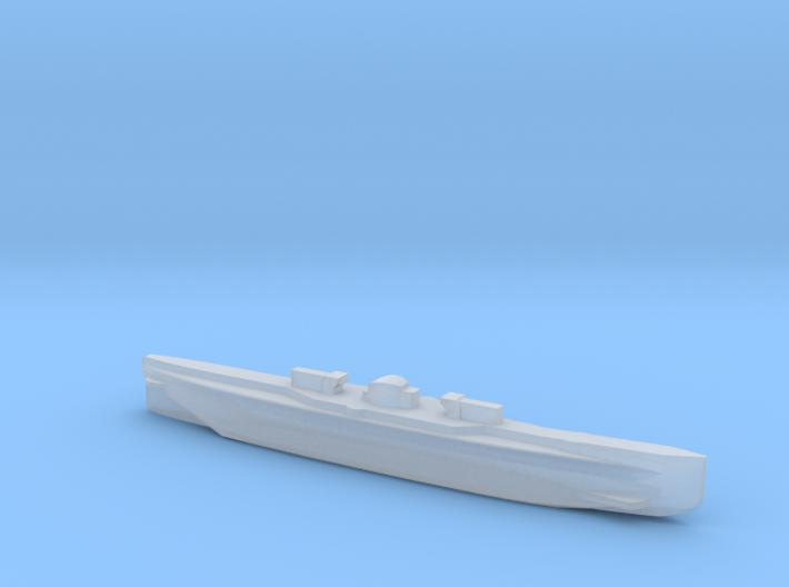 U151, Full Hull, 1/2400 3d printed