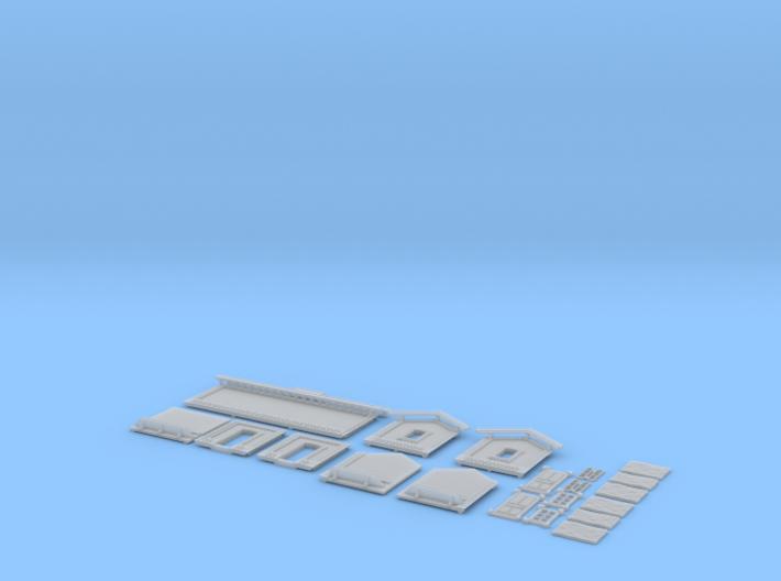 NAQ11 Platform shelter 3d printed