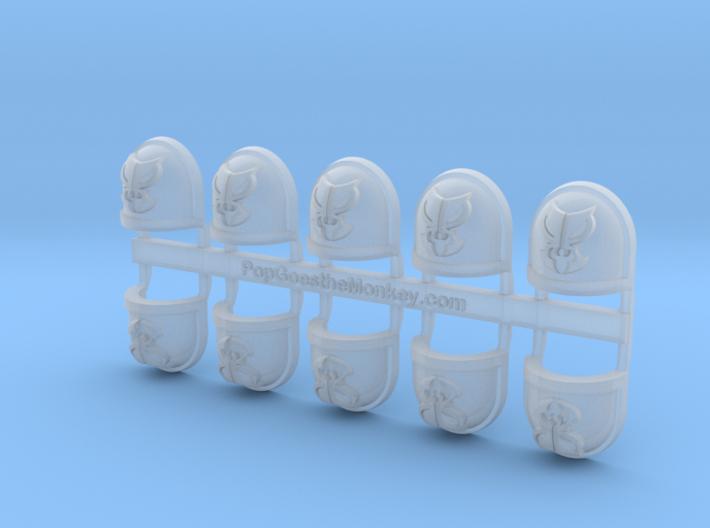 Mantis Legion - Gen7:Standard Shoulder x10 3d printed
