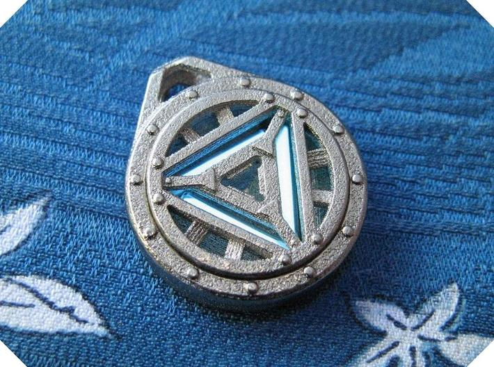 Arc reactor pendant tritium stainless steel g5mj2jj82 by tofty arc reactor pendant tritium stainless steel 3d printed in this picture the phosphorus aloadofball Image collections