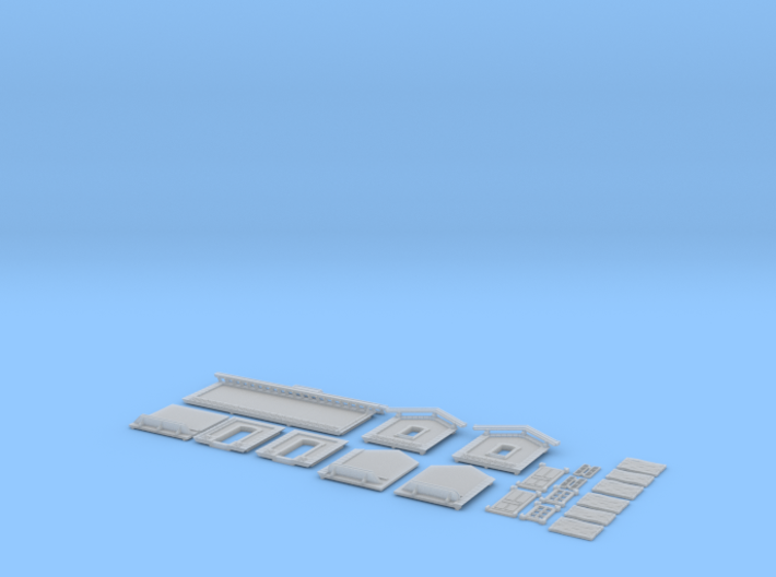 NAQ13 Platform shelter 3d printed