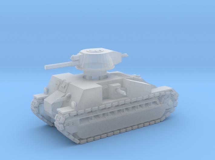 Vickers Medium Mk.C (1:285) 3d printed