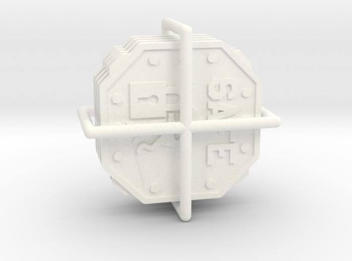 A.S.I.E. Safe tokens (4 pcs) 3d printed