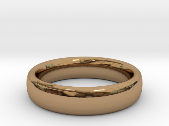 Simple Ring (Size 7) 3d printed