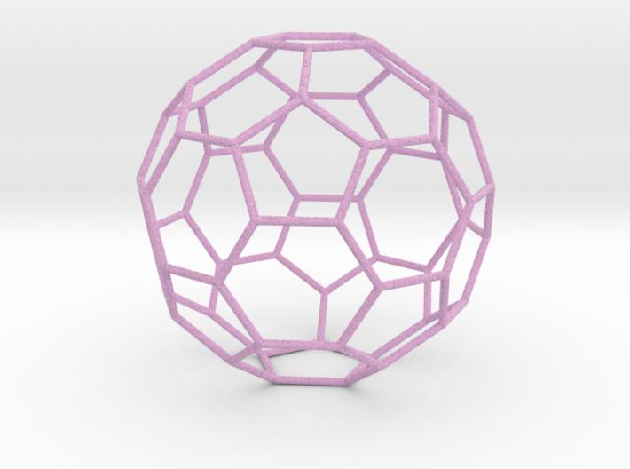 0475 Truncated Icosahedron E (13.5 см) #005 3d printed