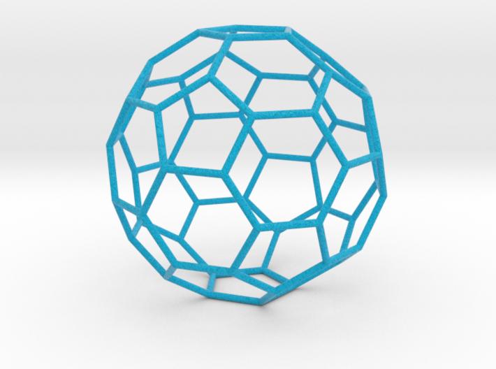0476 Truncated Icosahedron E (11.0 см) #004 3d printed