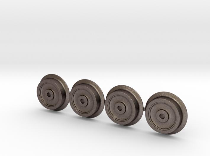 Rollbock Raeder 3mm V3.1 3d printed