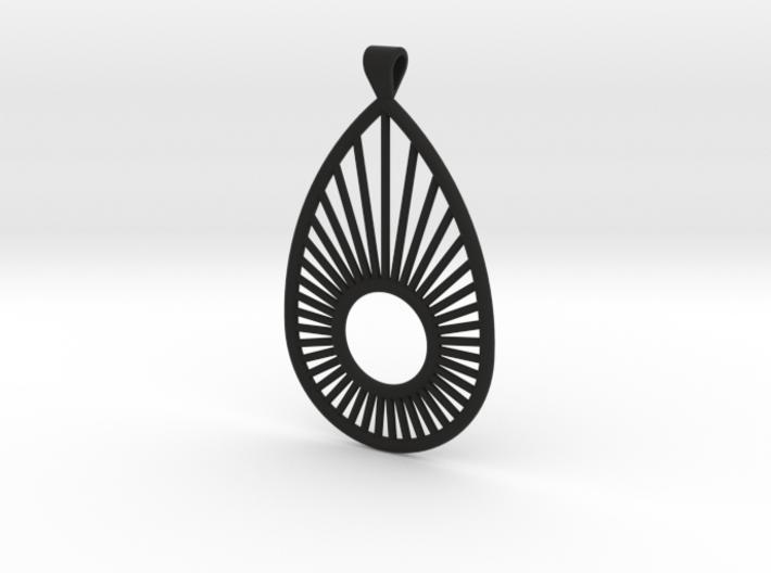 Sunrise Pear - Pendant 3d printed