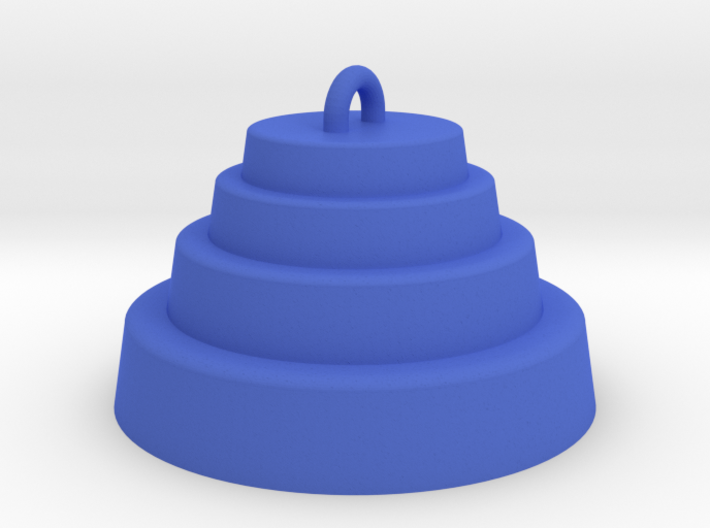 DRAW ornament - terraced dome 3d printed