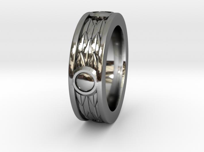 Roman Laurel Ring - Size 12 3d printed