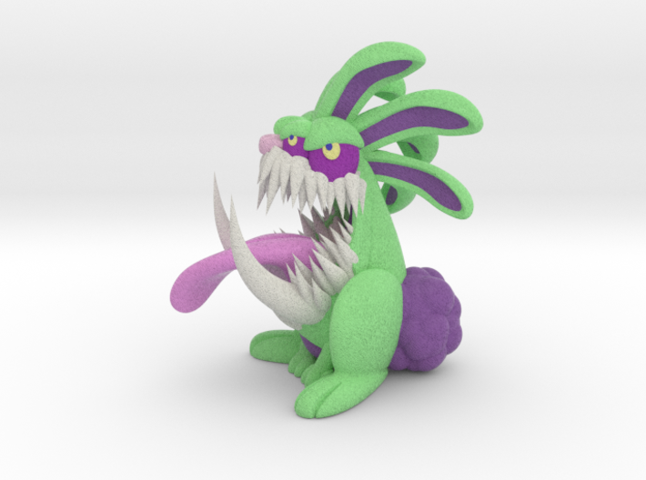 Monster Bunny #6 - Freak / Stretch 3d printed
