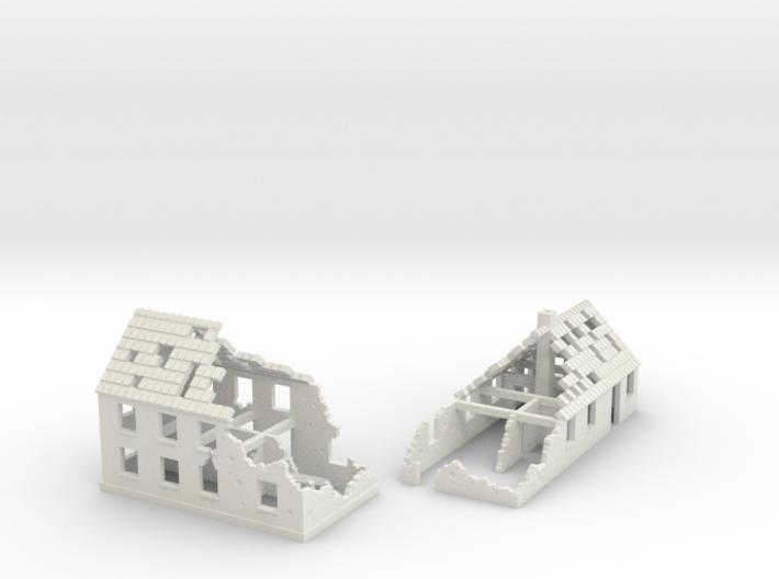 1:285 Ruins X2 3d printed