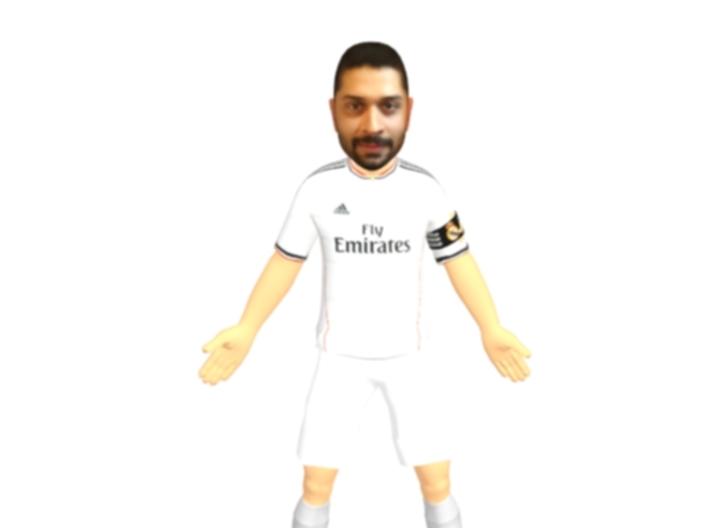 Jaggi as ronaldo 3d printed
