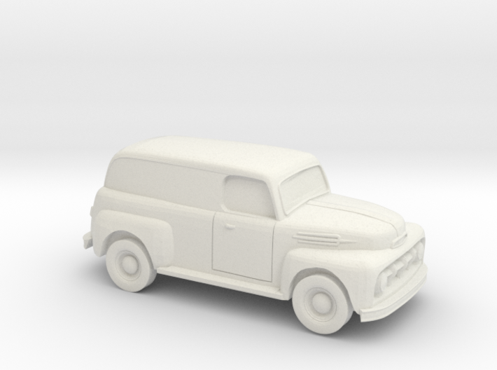 1/87 1952 Ford Panel Truck 3d printed