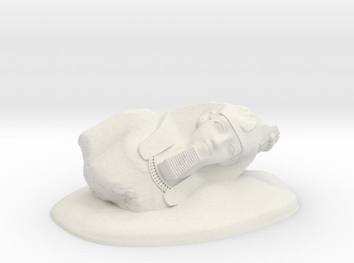 28mm/32mm Younger Memnon/Ramesses II/Ozymandias 3d printed