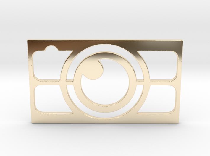 Camera Business Card 3d printed