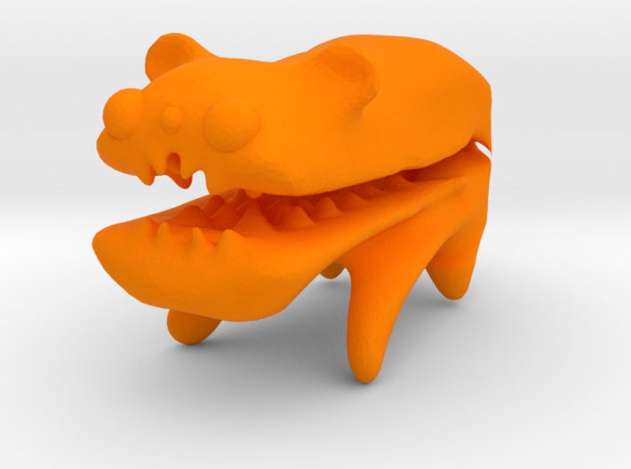 Improved Bear That is Eating Your Finger 3d printed