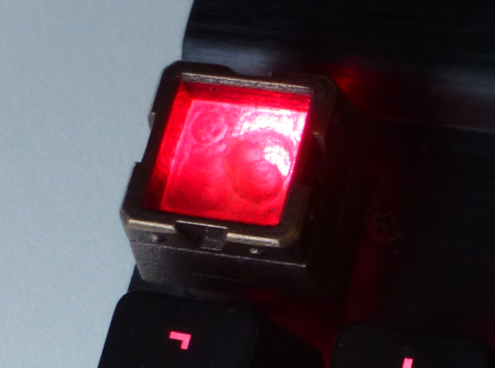 Molten Metal Canister Cherry MX Keycap 3d printed