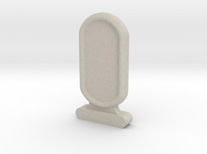 Amun Re Token Sandstone 3d printed
