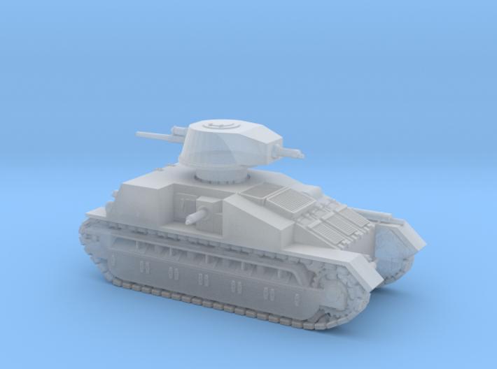 Vickers Medium Mk.C (1:200 scale) 3d printed