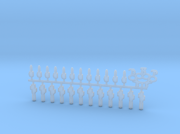 Dumps-DBP 1/24th - 1/25th scale lowrider model par 3d printed