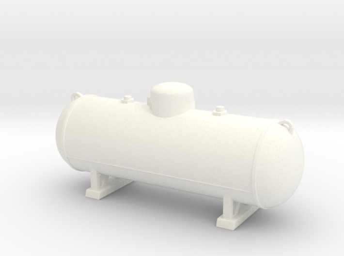 Propane tank 500 gallon. 1:24 Scale  3d printed