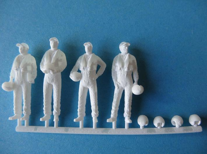 72-H0080: Crew for Grumman Tracker in 1:72 scale 3d printed