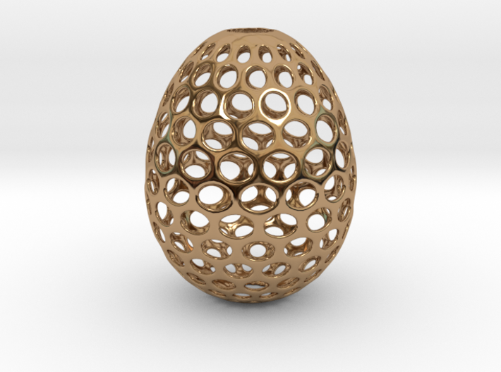Aerate - Decorative Egg - 2.2 inches 3d printed