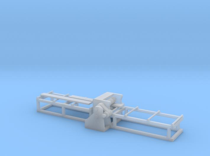 Saw Planer - N 160:1 Scale 3d printed