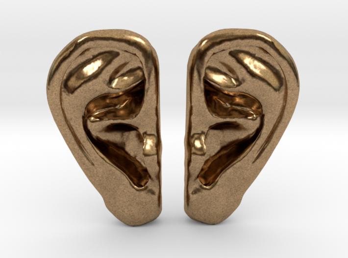 Ear Stud Earrings 3d printed
